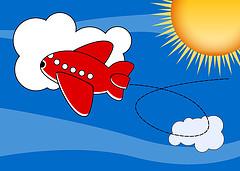 Airplane+cartoon